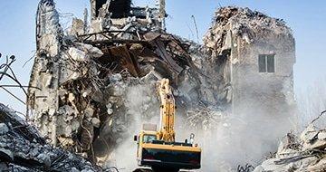 Снос промышленных зданий и сооружений